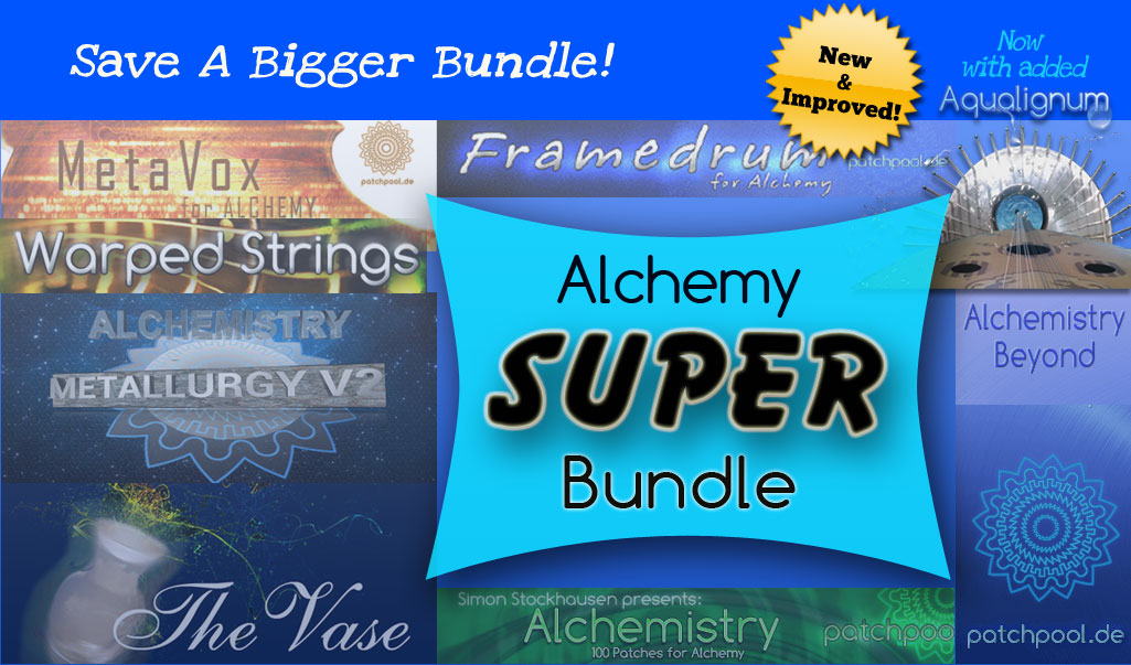 Alchemy Super Bundle - Patchpool